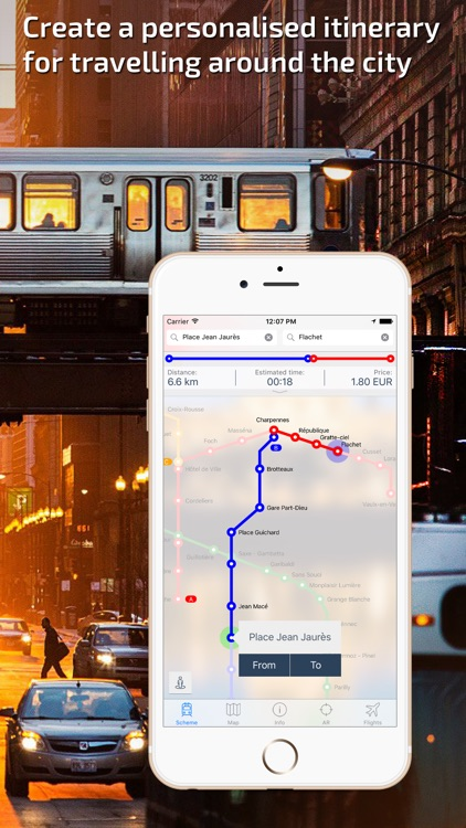 Lyon Metro Guide and Route Planner
