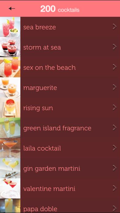 200 Cocktails from Hamlyn Screenshot