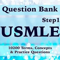 USMLE (Step1) Question Bank -10200 Flashcards Study Notes, Terms & Exam Prep