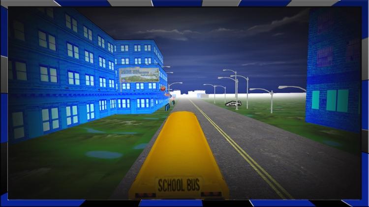 Crazy School Bus Driving Simulator game 3d screenshot-4