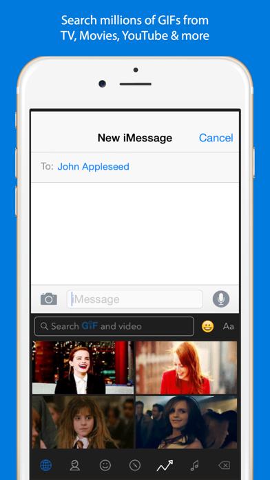 Screenshot for GIF Keyboard in Spain App Store