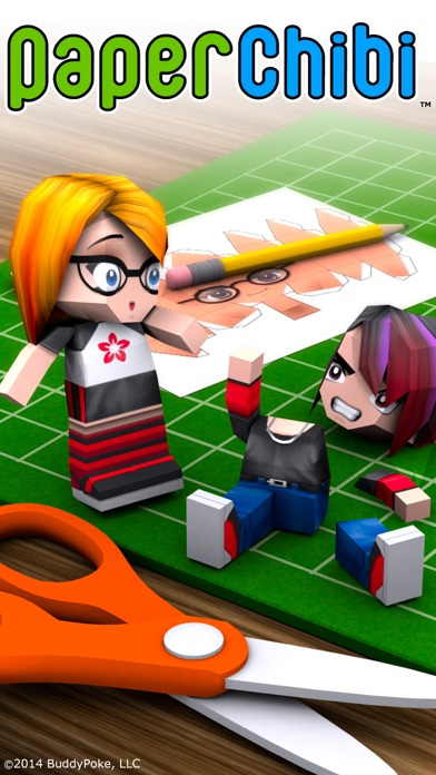 3D Papercraft - Create PaperChibi Avatar app image