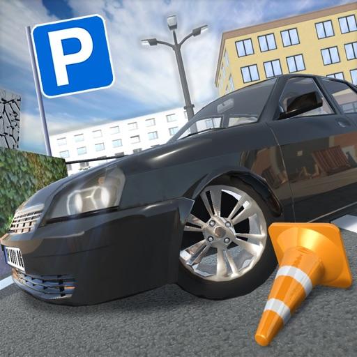 Русские Тачки: Парковка