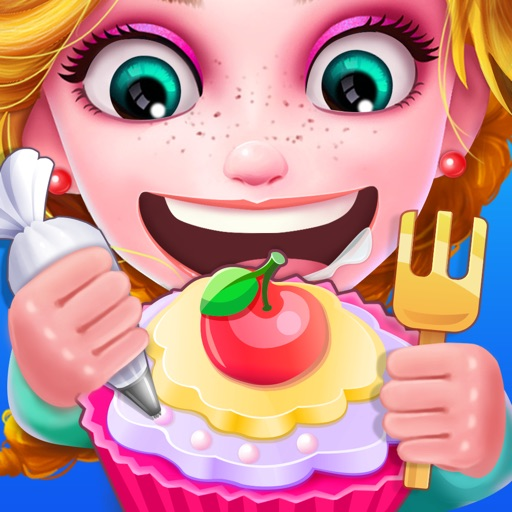 Cupcake Bakery Shop - Dessert Food Cooking Games