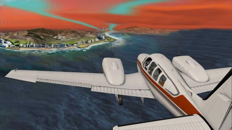 VR Airplane Flight Simulator for Google Cardboard screenshot-3