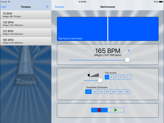 Metronome!! by Peter Deelstra (iOS, United Kingdom