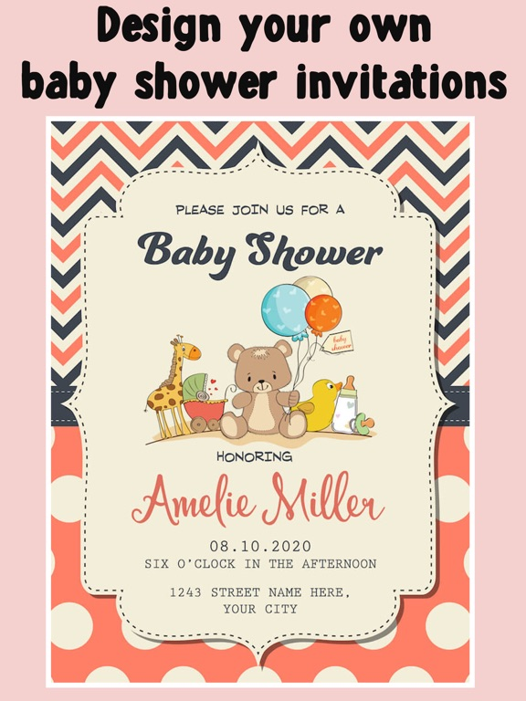 Baby Shower Invitation Cards Free App Price Drops