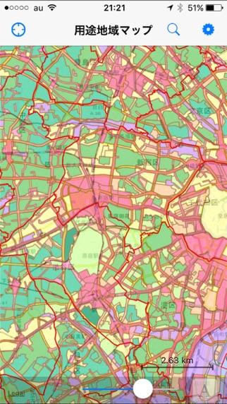 用途地域マップのおすすめ画像5