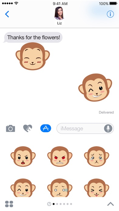 Screenshot #5 for Monkey Expressions