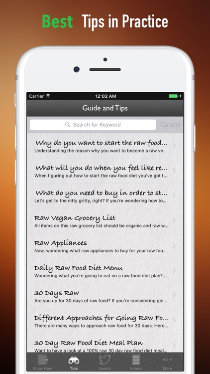 Raw Food 101-Exercise Plan and Healthy Recipes screenshot-3