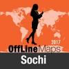 Sochi mapa offline y guía de viaje