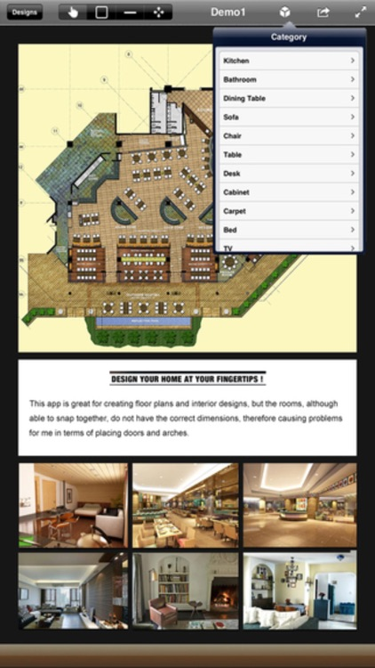 3D Interior Plan - Home Floor Design & Auto CAD screenshot-3