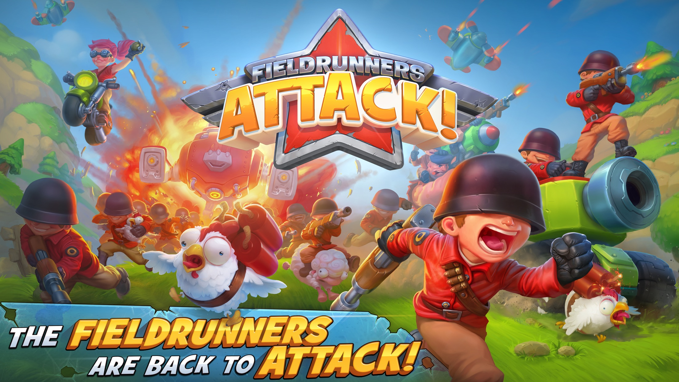 Fieldrunners Attack! Screenshot