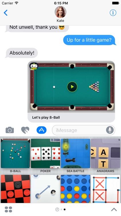 Poker imessage app
