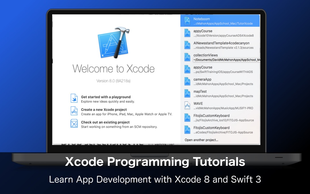App School for Xcode and iOS 10 Development Free - Online