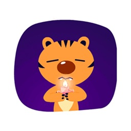 Lonely Tiger - Fx Sticker
