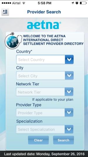 aetna int'l provider directory dans l'app store