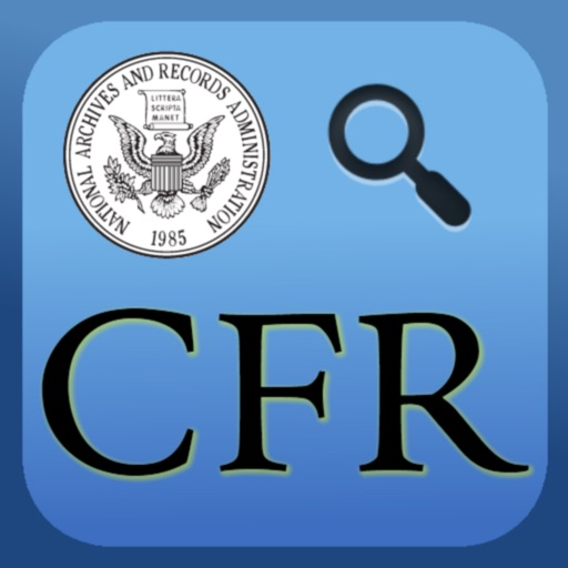 US Code of Federal Regulations (CFR)