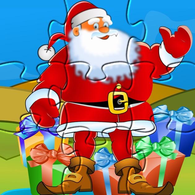 Papá Noel Puzzle: Juegos de Navidad para niños en App Store