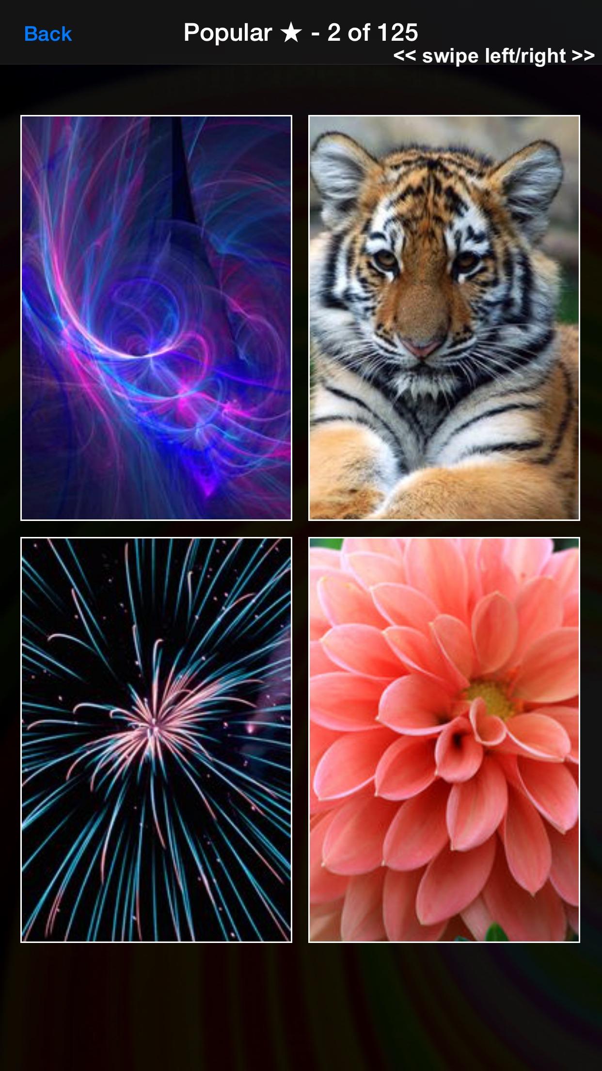 Wallpapers HD - Cool Backgrounds & Wallpaper Maker Screenshot