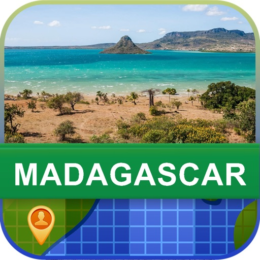 Offline Madagascar Map - World Offline Maps icon