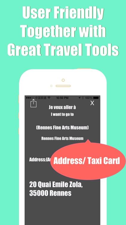 Rennes metro transit trip advisor star guide & map screenshot-3
