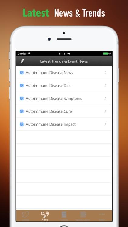 Autoimmune Disease 101| Guide and Top News screenshot-4