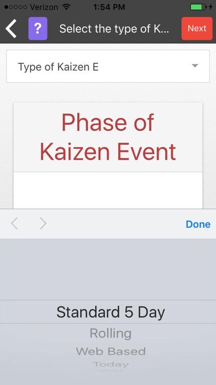 Lean Kaizen Events screenshot-4