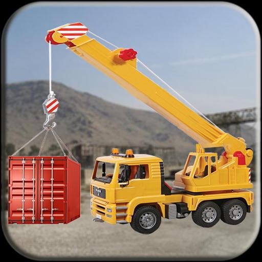 Transporter Crane Truck Drive Games