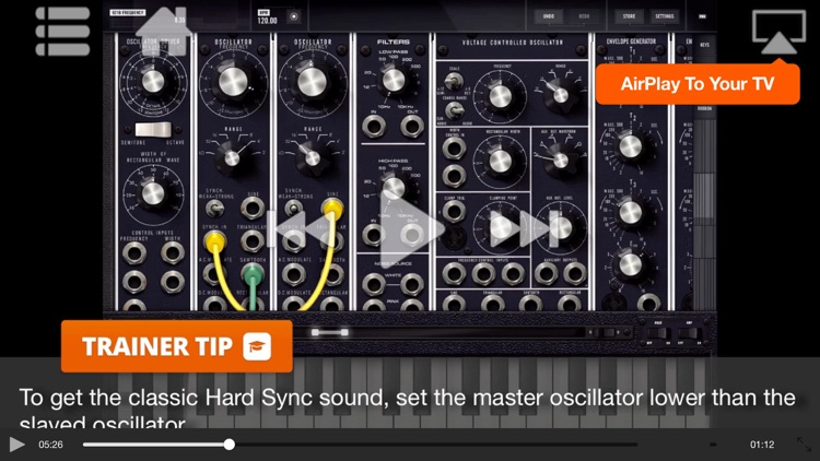Video Guide For Moog Model 15 screenshot-4