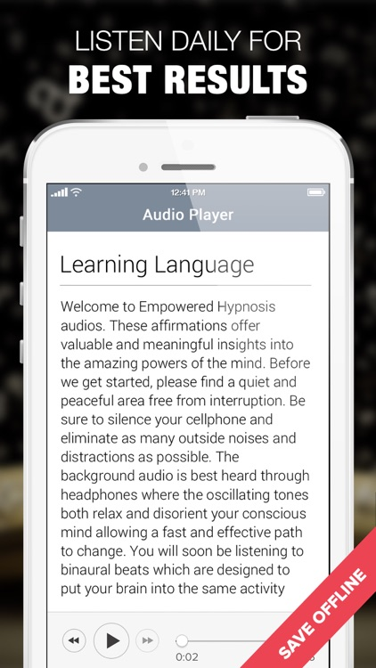 Hypnosis for Learning Language screenshot-4