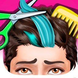 Messy Hair Salon - Girls Games for One Direction