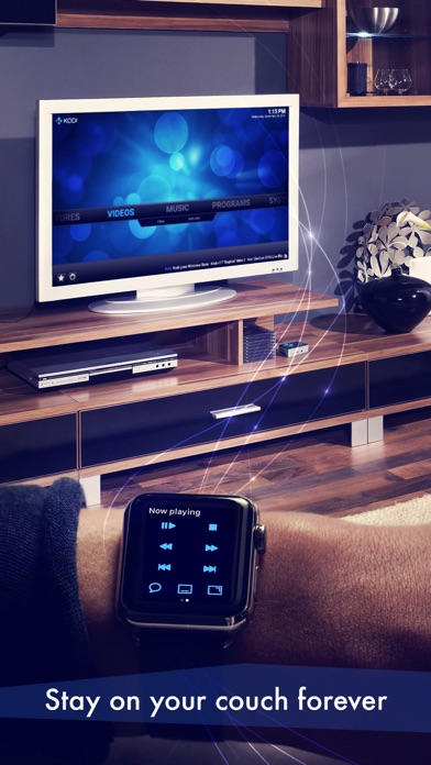 Watch Kodi - remote control for Kodi media player