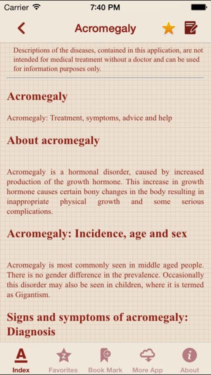 Diseases Dictionary Offline: Pro