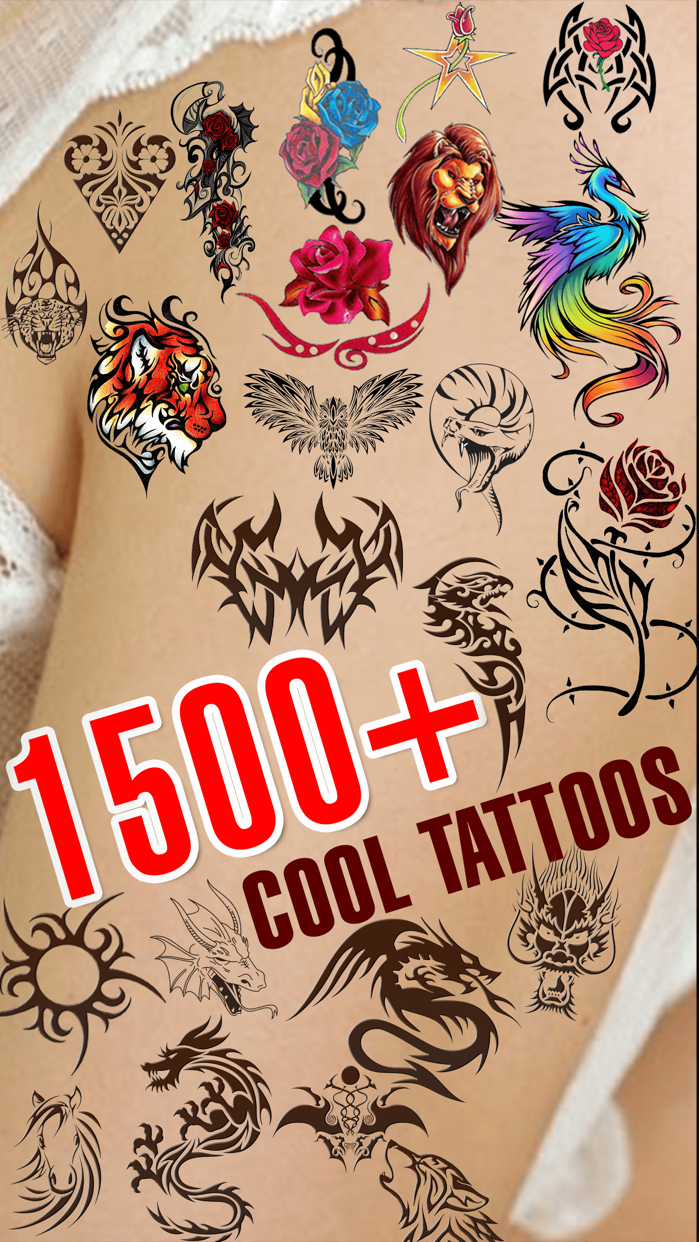 Tattoo Designer Booth - Add Tattoos on your body Screenshot