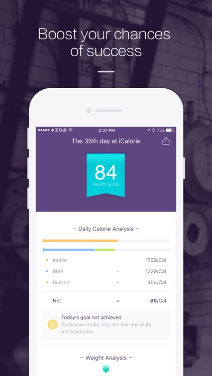 iCalorie - Weight Loss and Healthy Lifestyle screenshot-4