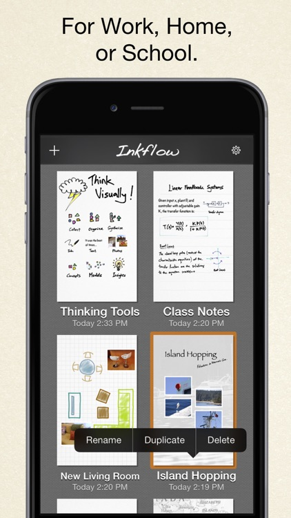 Inkflow Plus Visual Notebook screenshot-4