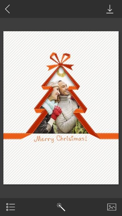 Holiday Christmas Frame - Instant pic frames - App - Mobile Apps