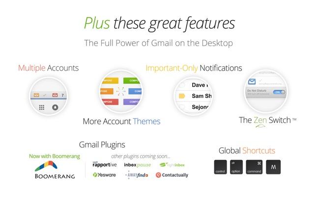 Kiwi for Gmail Screenshot