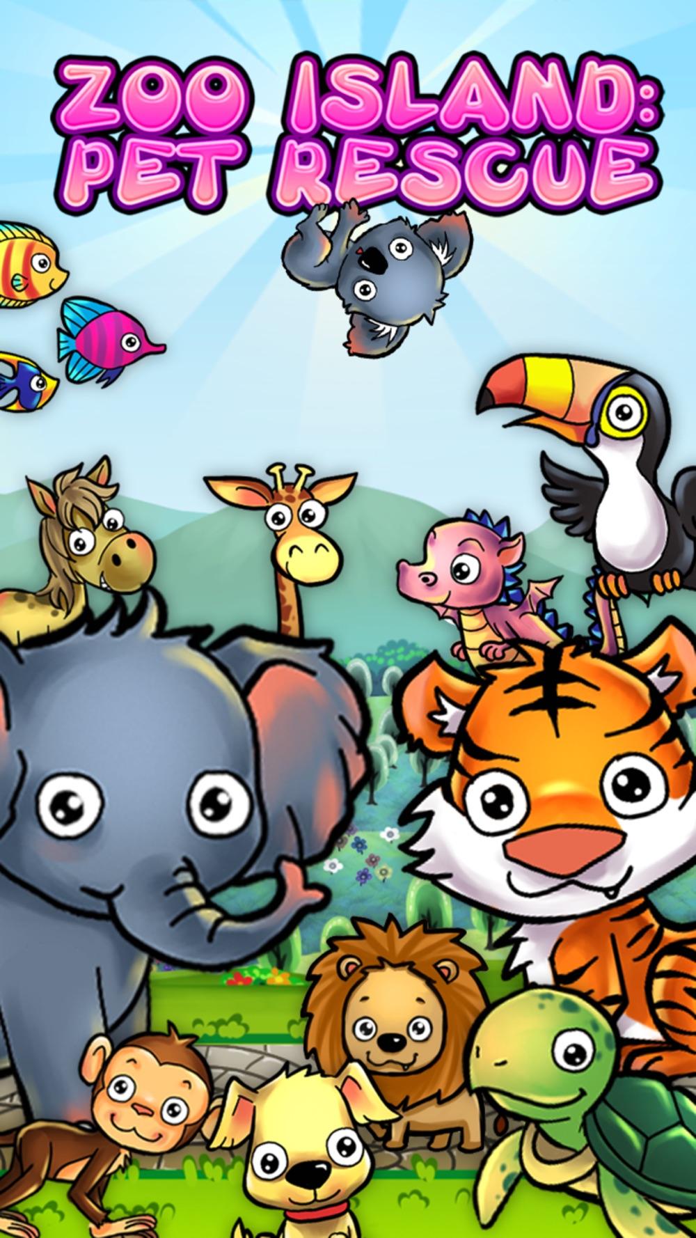 Animal Adventure in Zoo Island
