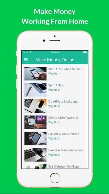 How To Make Money - 60 Ways screenshot-4