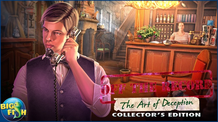 Off The Record: The Art of Deception - A Hidden Object Mystery (Full) screenshot-4