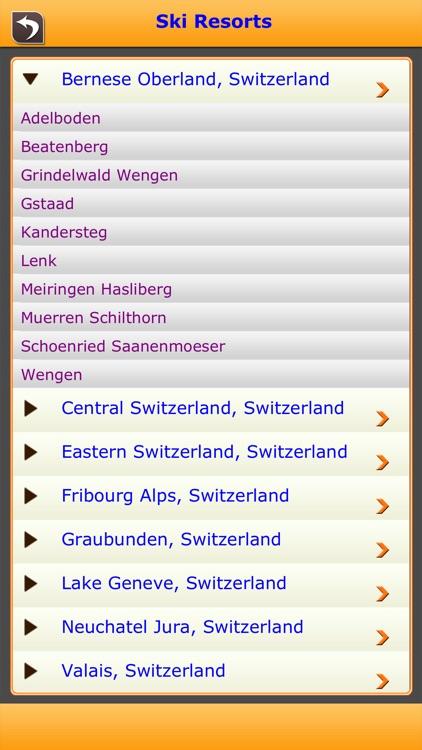 Swizerland Ski Resorts