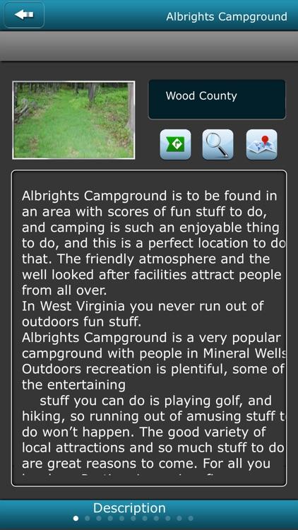 West Virginia Campgrounds screenshot-3