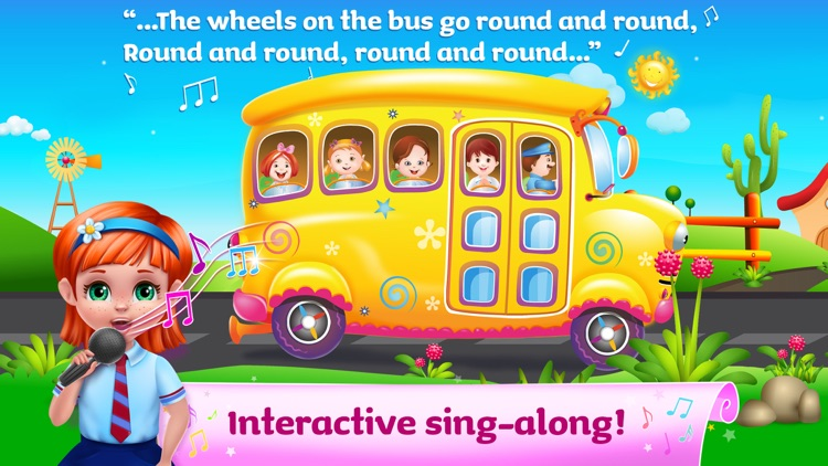 The Wheels On The Bus - Sing Along Full Version