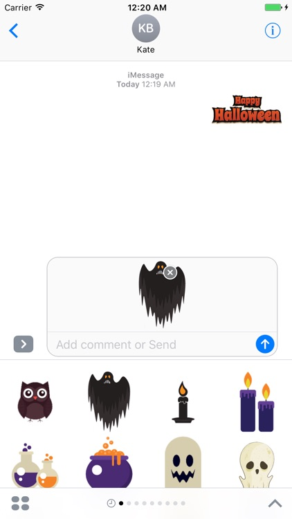 Halloween Stickers - Halloween Elements screenshot-4