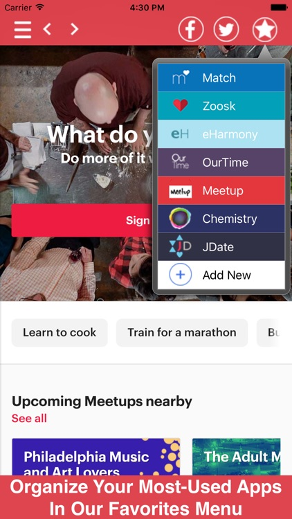 Dating All In One - Chat, Flirt, Meet, and More!