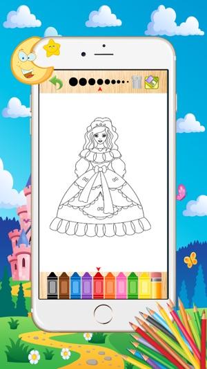Prenses Boyama Boyama Sayfalary Boyama Sayfasi