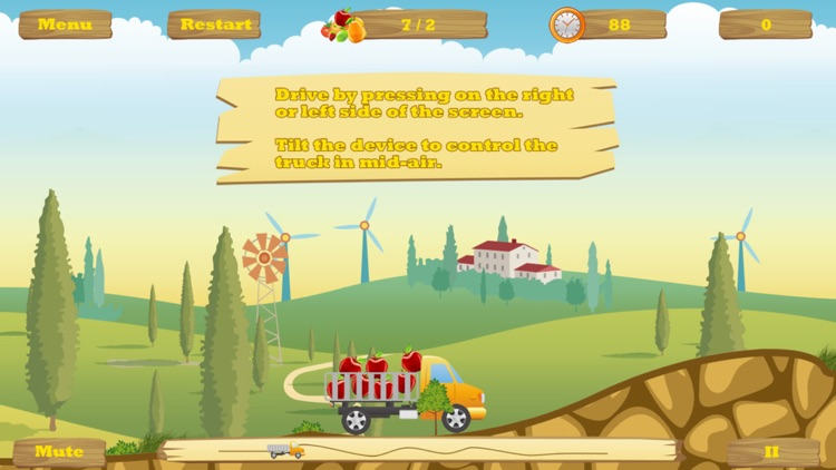 HappyTruck -- Fruit Express screenshot-1