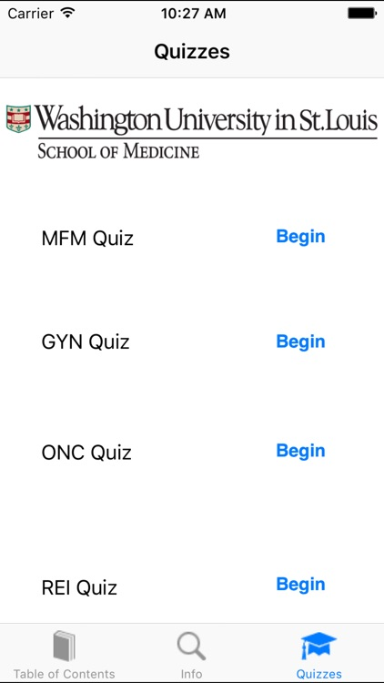 WUSM OBGYN Guide screenshot-2